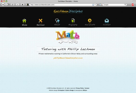 Simple, fun home page